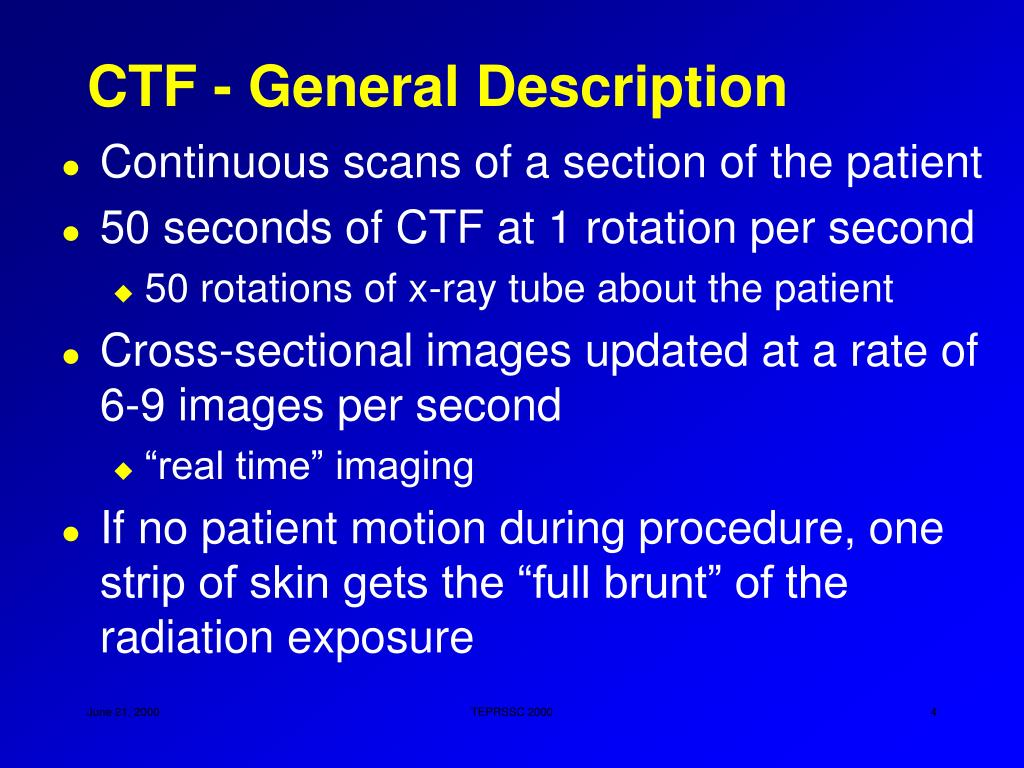 CTF - General Description