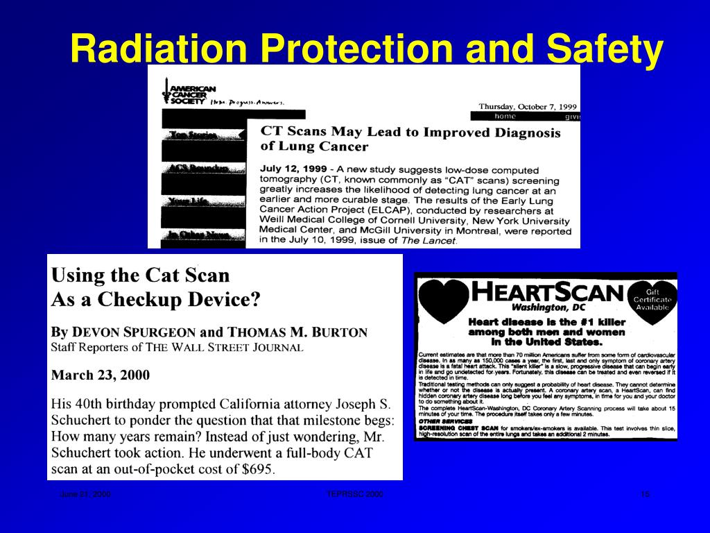 Radiation Protection and Safety