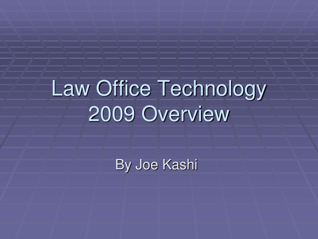 Law Office Technology