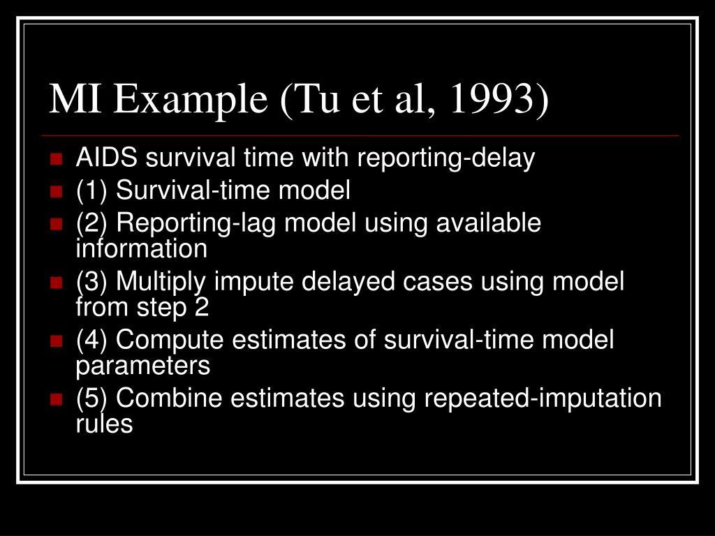 MI Example (Tu et al, 1993)
