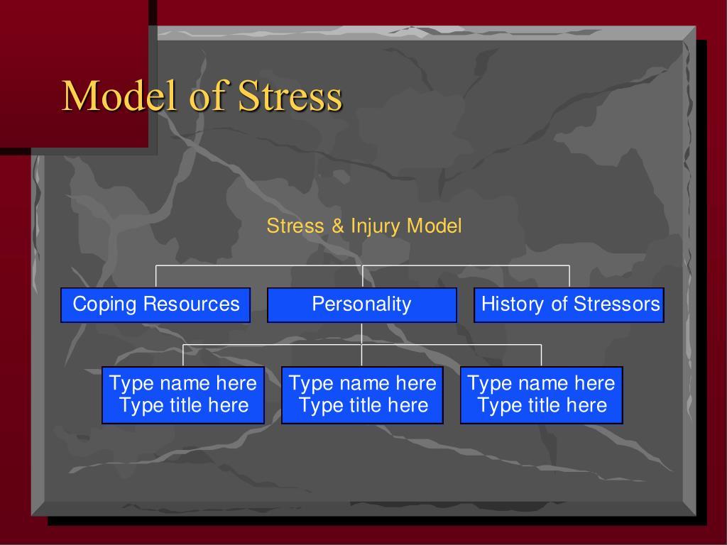 Model of Stress