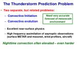 the thunderstorm prediction problem17