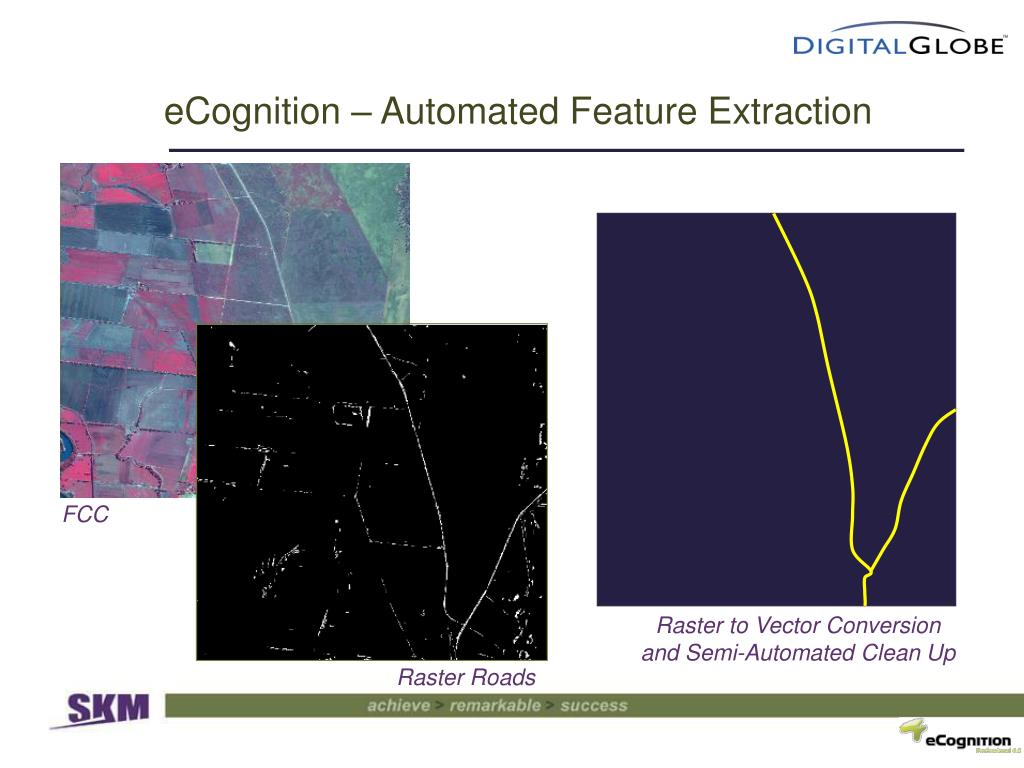 eCognition – Automated Feature Extraction