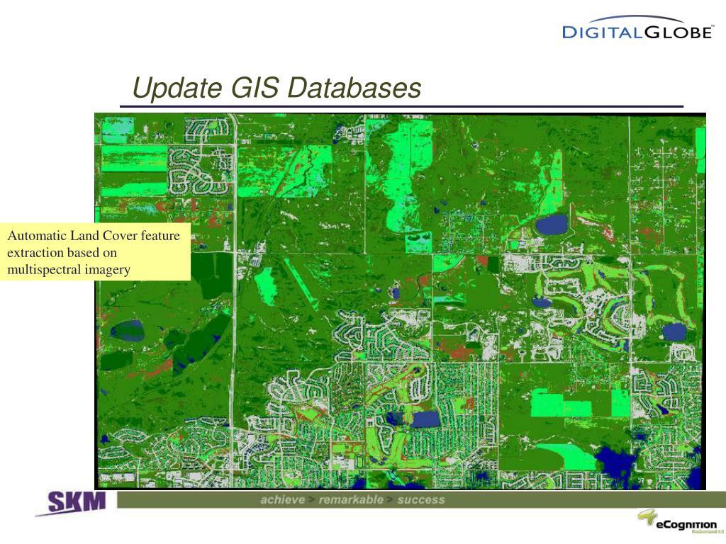 Update GIS Databases