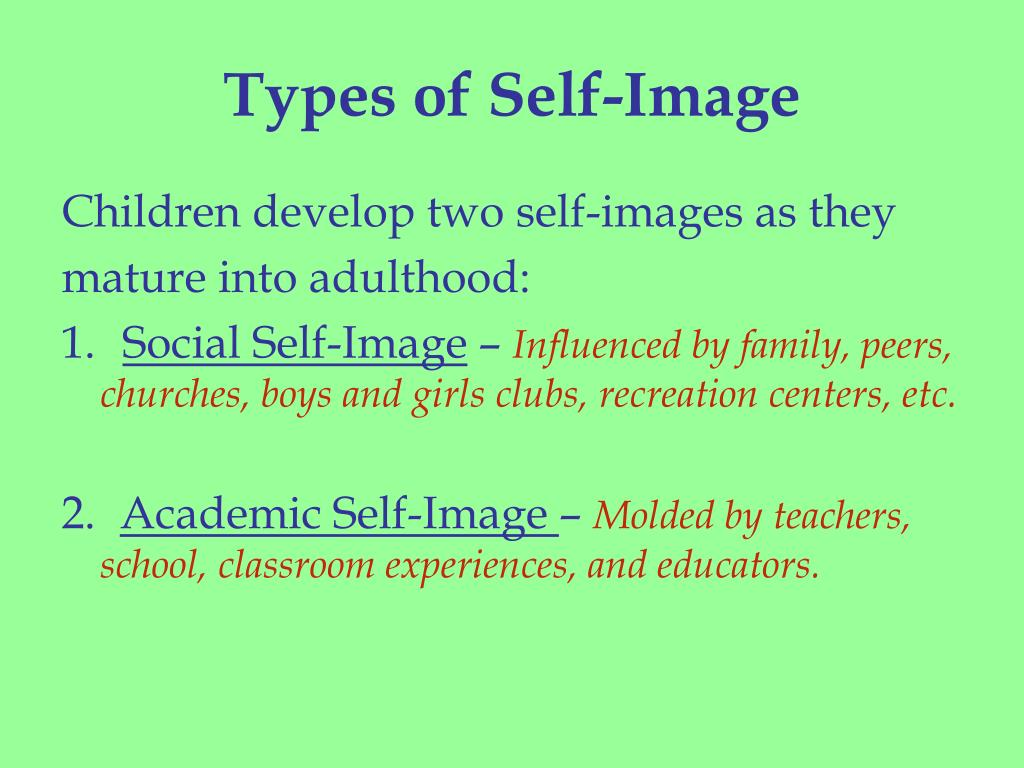 Types of Self-Image