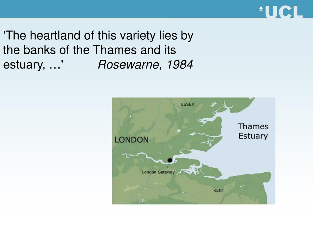 'The heartland of this variety lies by the banks of the Thames and its estuary, …'