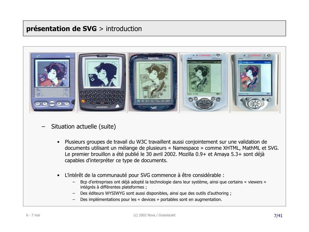 présentation de SVG
