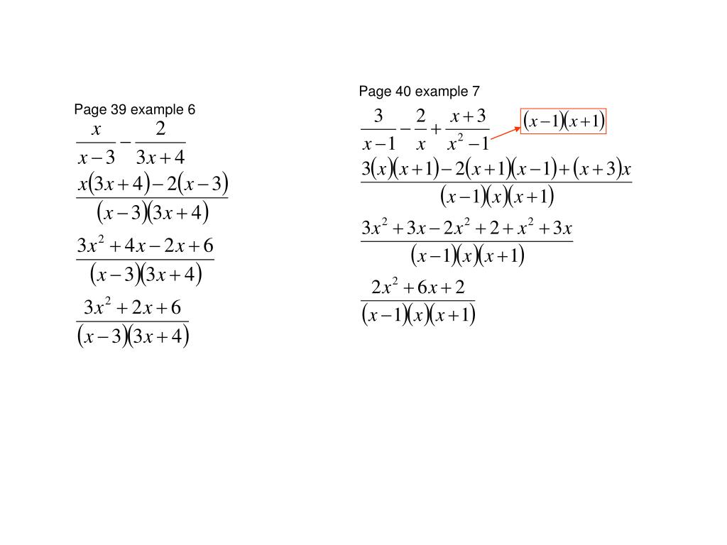 Page 40 example 7