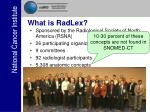 what is radlex