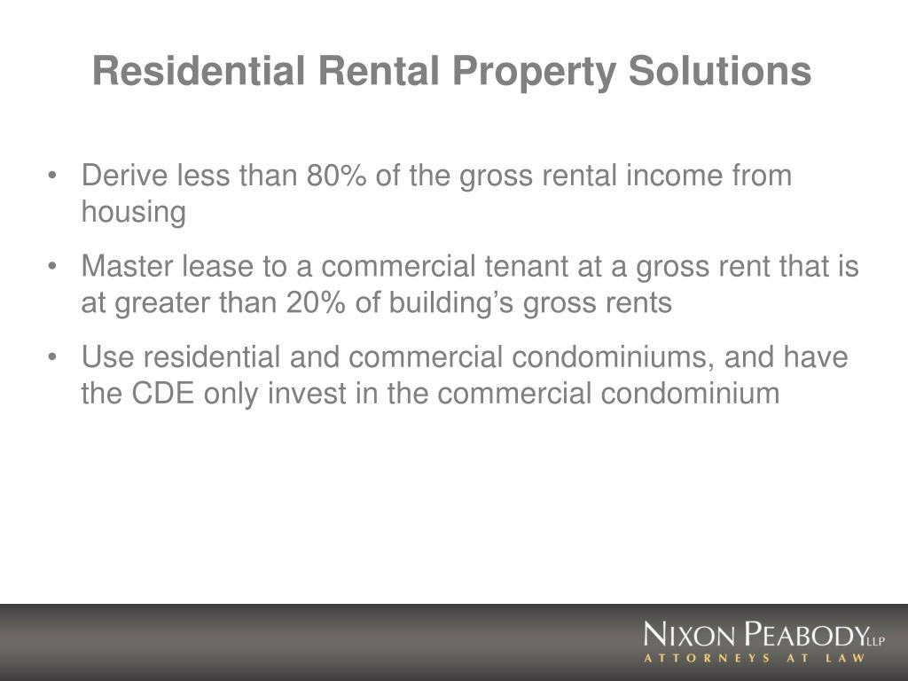 Residential Rental Property Solutions