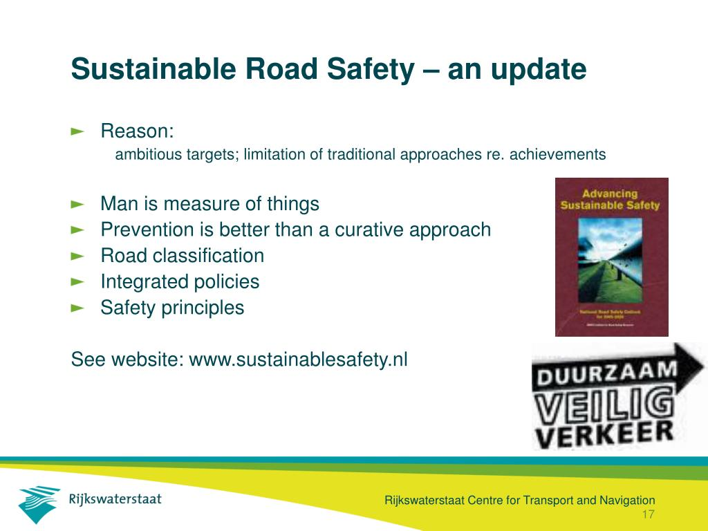 Sustainable Road Safety – an update