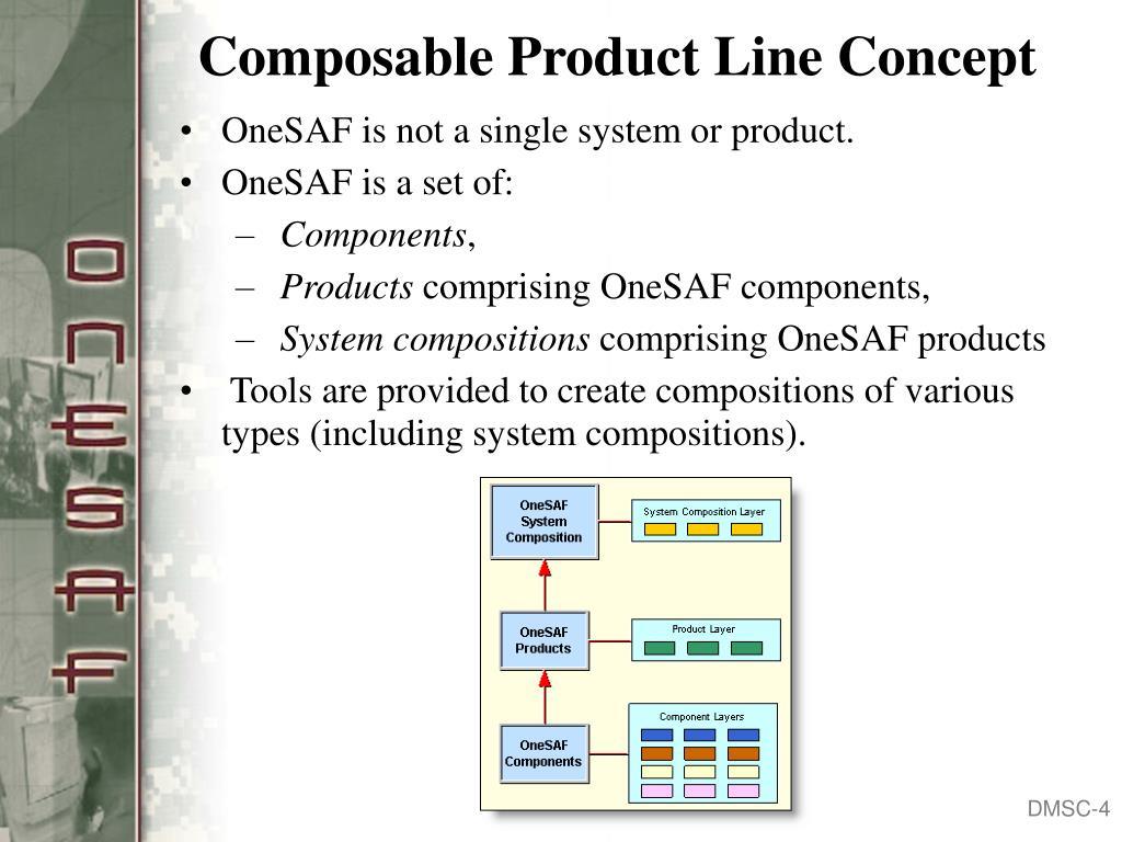 Composable Product Line Concept