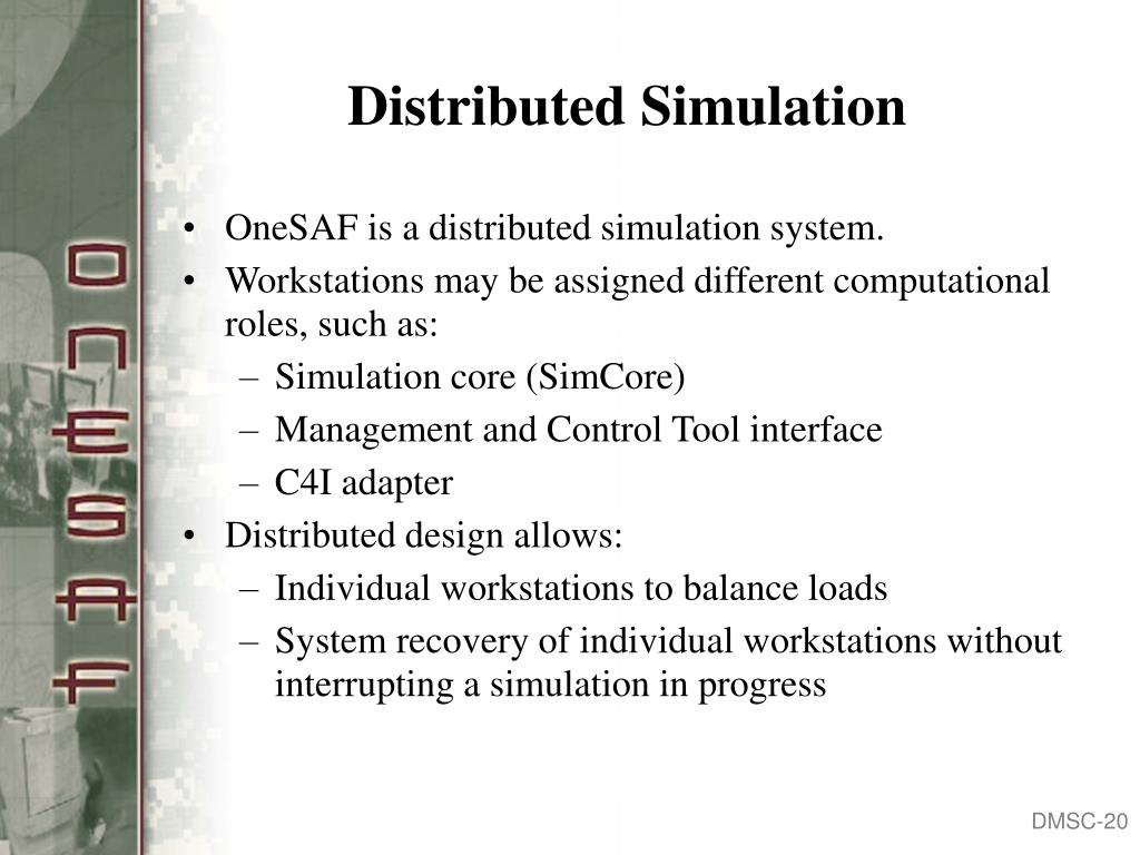 Distributed Simulation