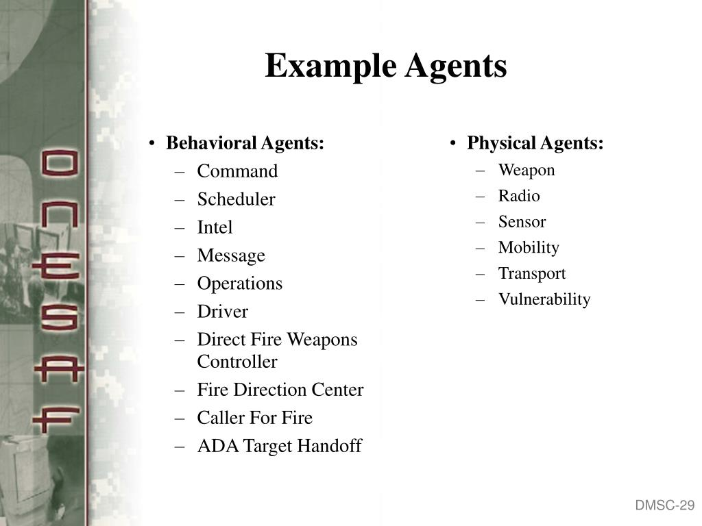 Behavioral Agents: