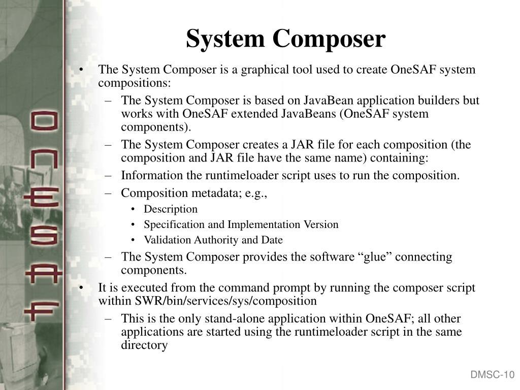 System Composer