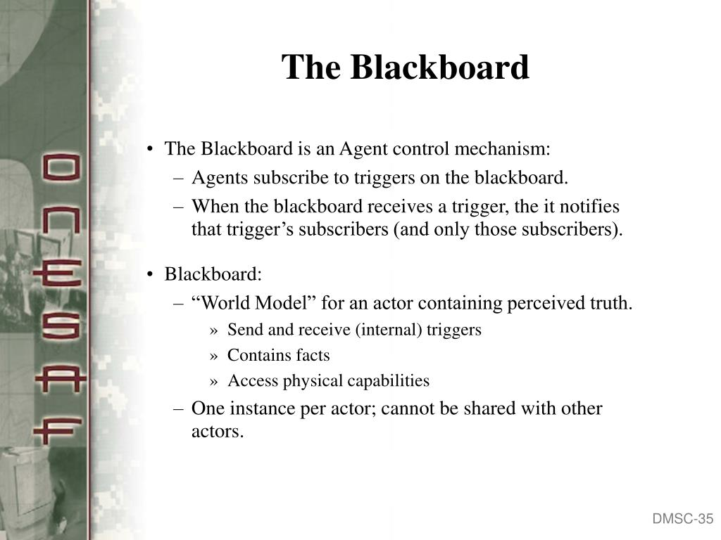 The Blackboard