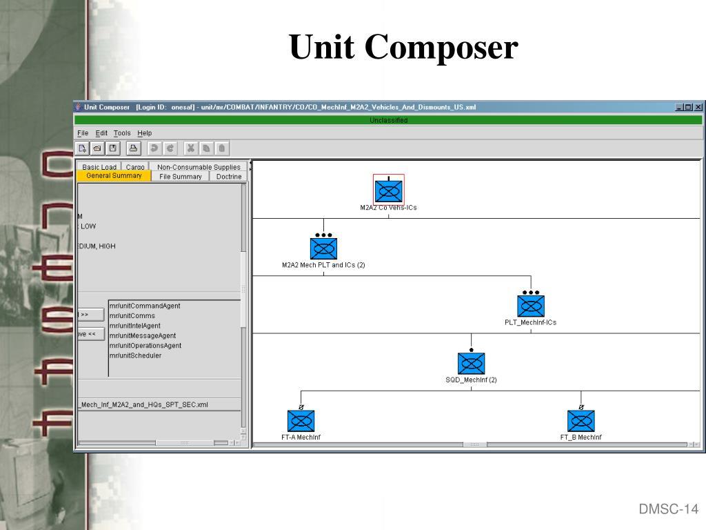 Unit Composer