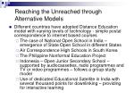 reaching the unreached through alternative models30