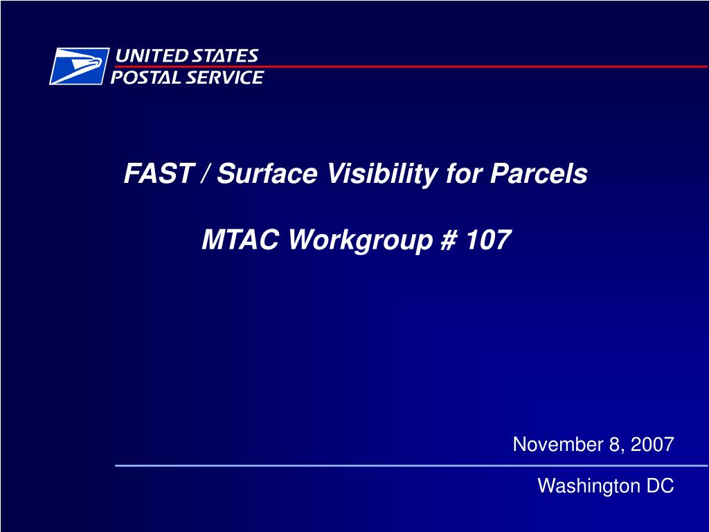 FAST / Surface Visibility for Parcels