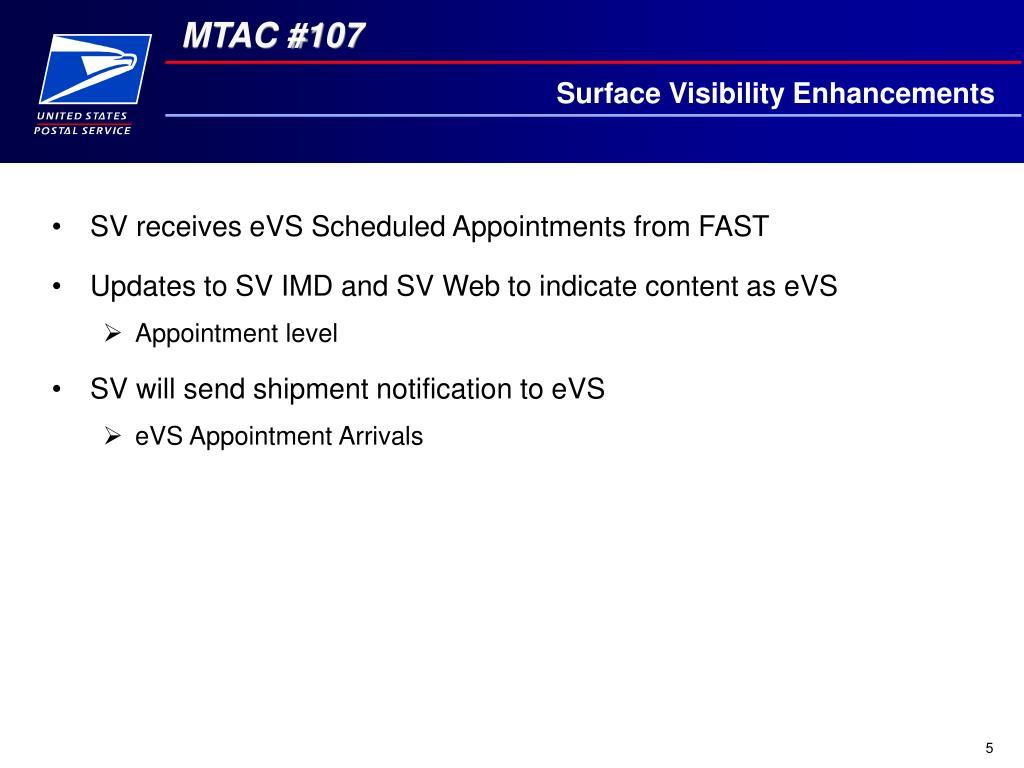 Surface Visibility Enhancements