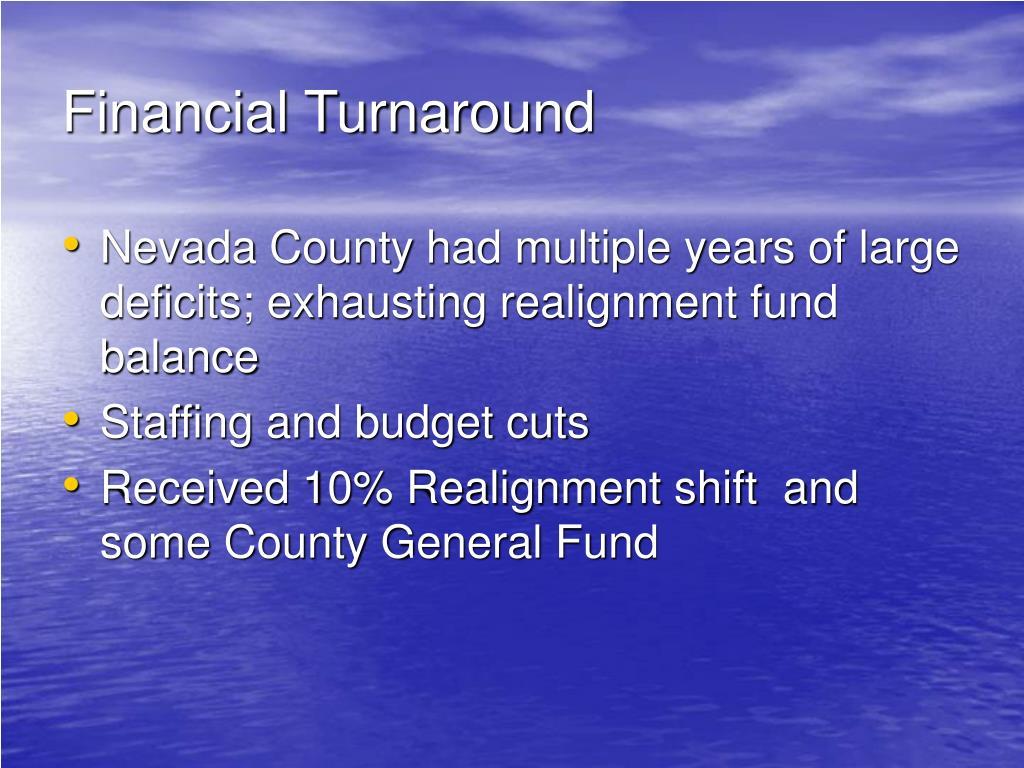 Financial Turnaround