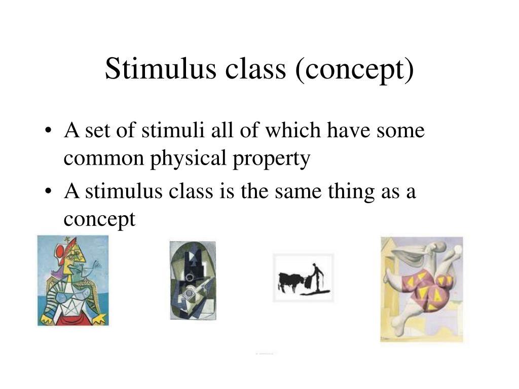 Stimulus class (concept)