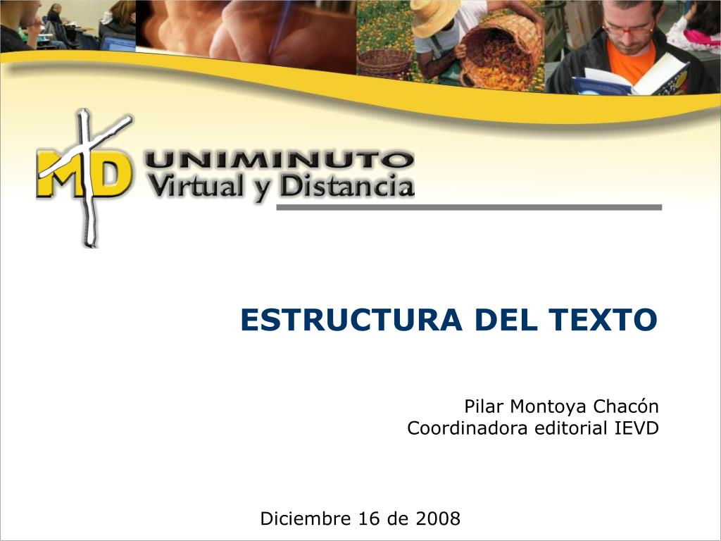 Ppt Estructura Del Texto Powerpoint Presentation Free