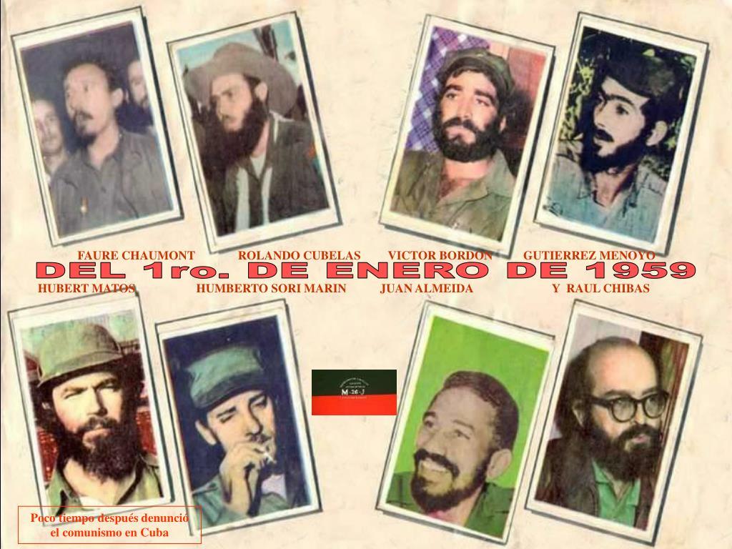 FAURE CHAUMONT              ROLANDO CUBELAS         VICTOR BORDON          GUTIERREZ MENOYO