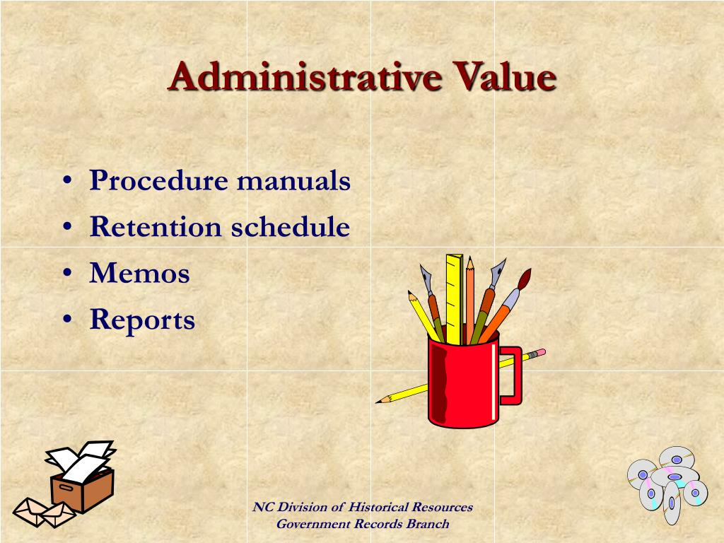 Administrative Value