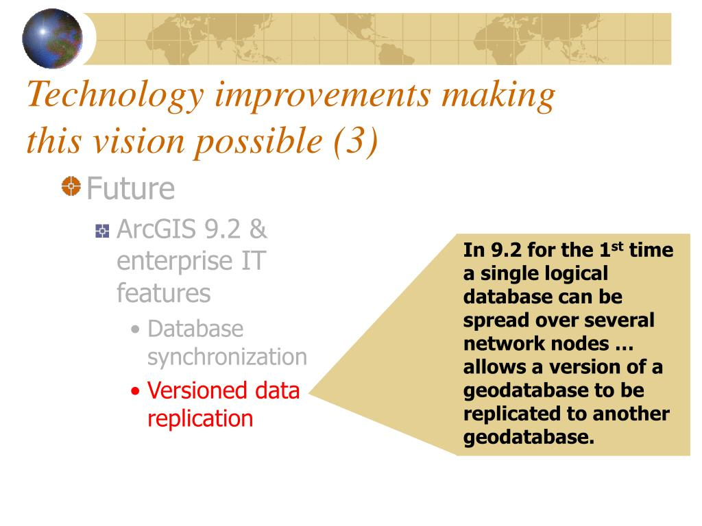 Technology improvements making this vision possible (3)