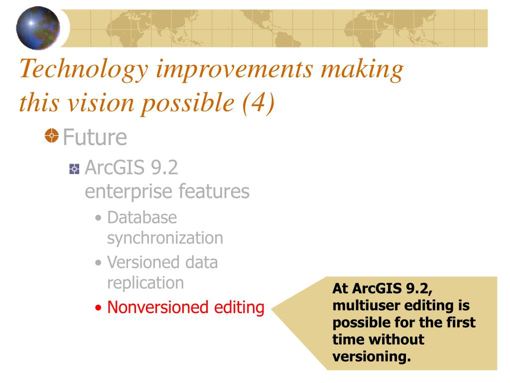 Technology improvements making this vision possible (4)