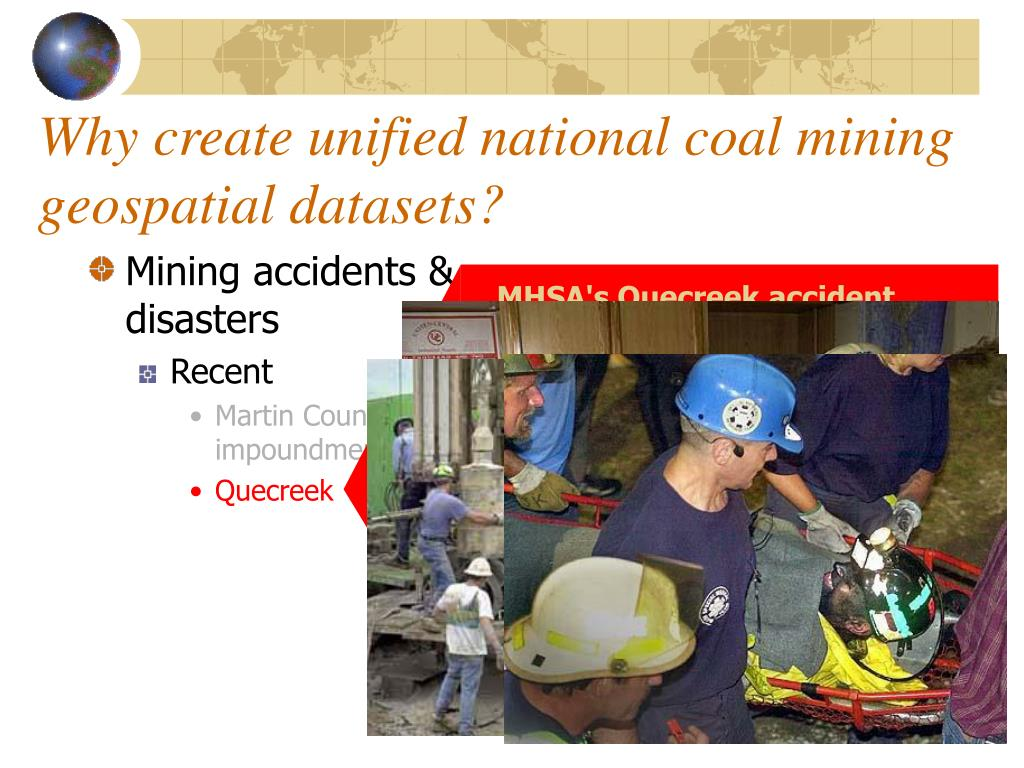Mining accidents & disasters