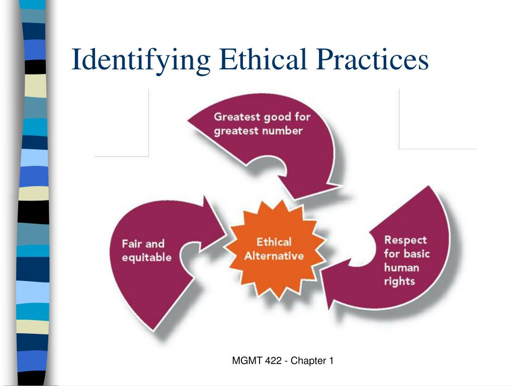 Identifying Ethical Practices