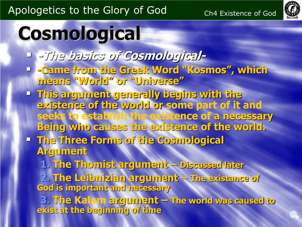 -The basics of Cosmological-