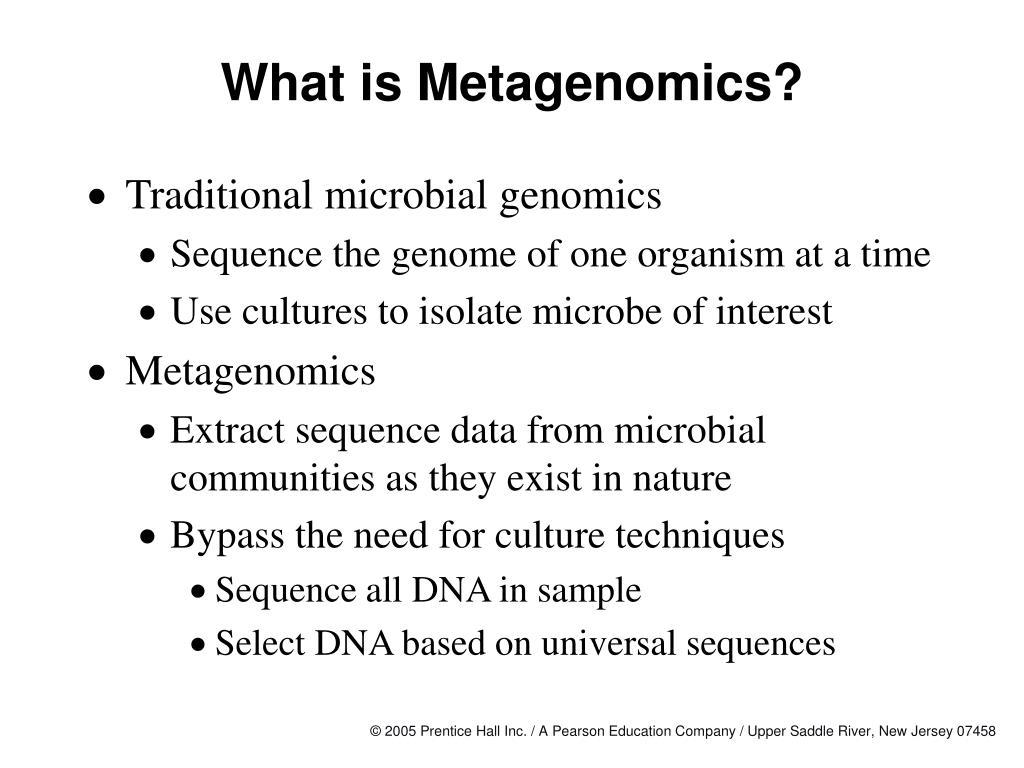 What is Metagenomics?