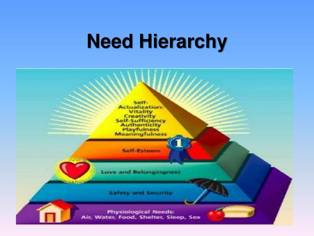 Need Hierarchy