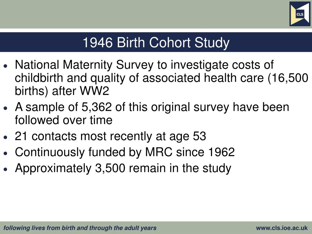 1946 Birth Cohort Study
