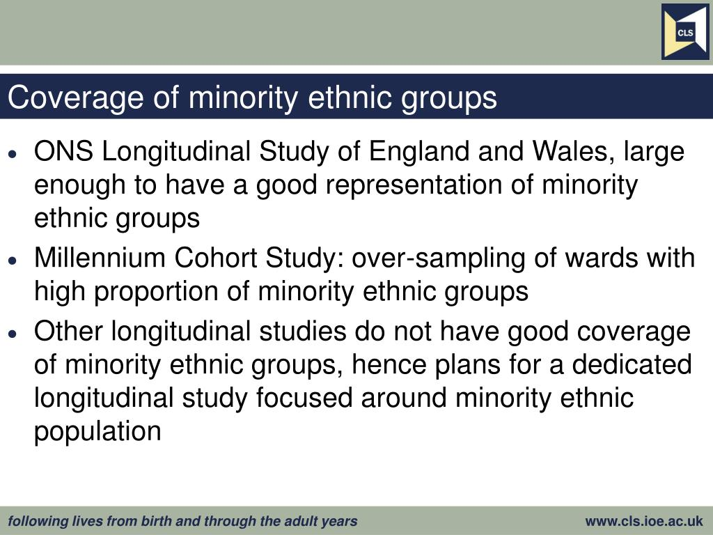 Coverage of minority ethnic groups