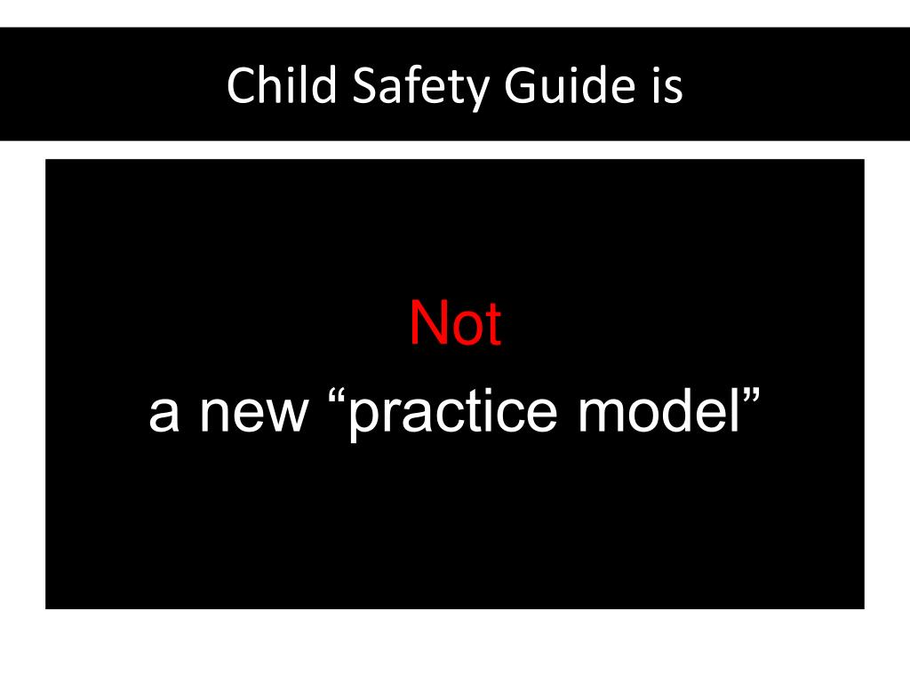 Child Safety Guide is