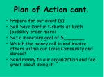 plan of action cont33