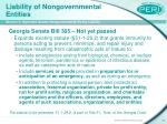 liability of nongovernmental entities19