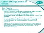 liability of nongovernmental entities22