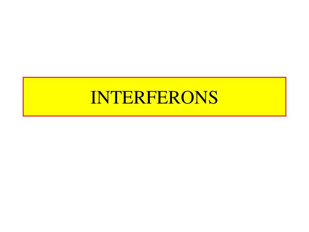 interferons l.