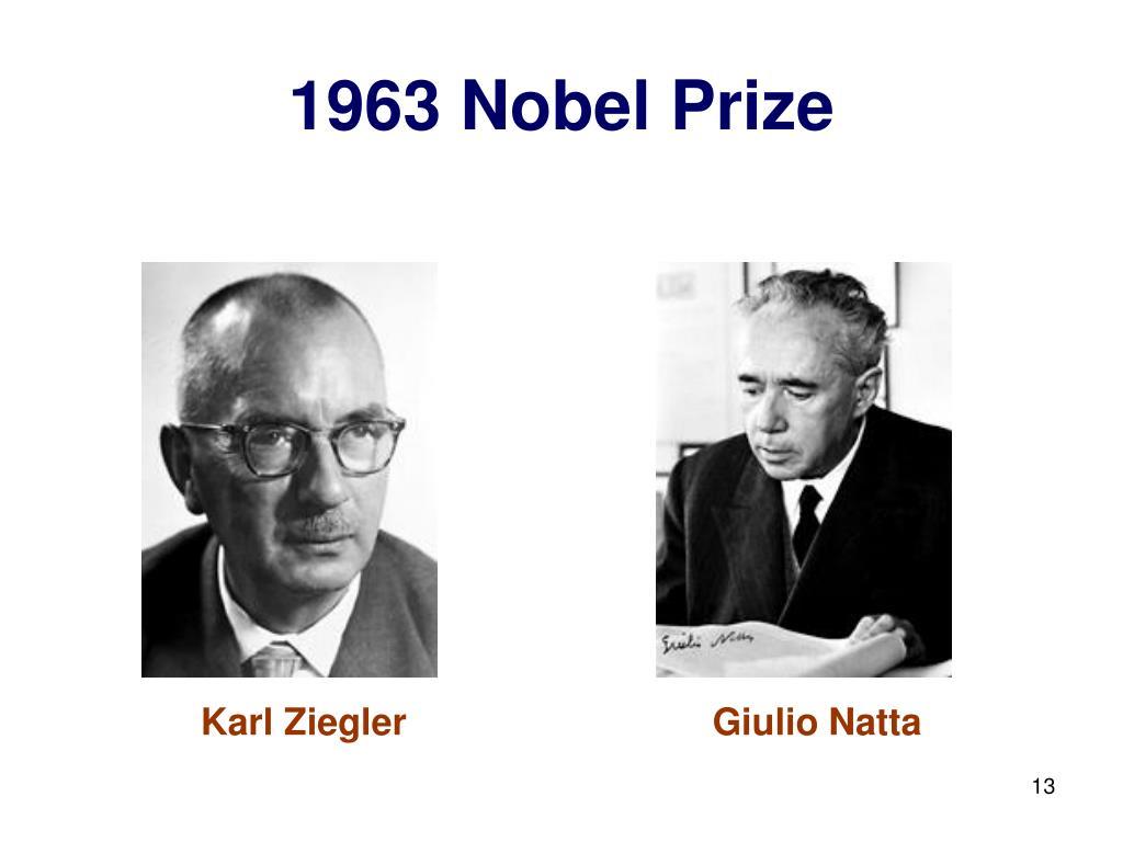 1963 Nobel Prize