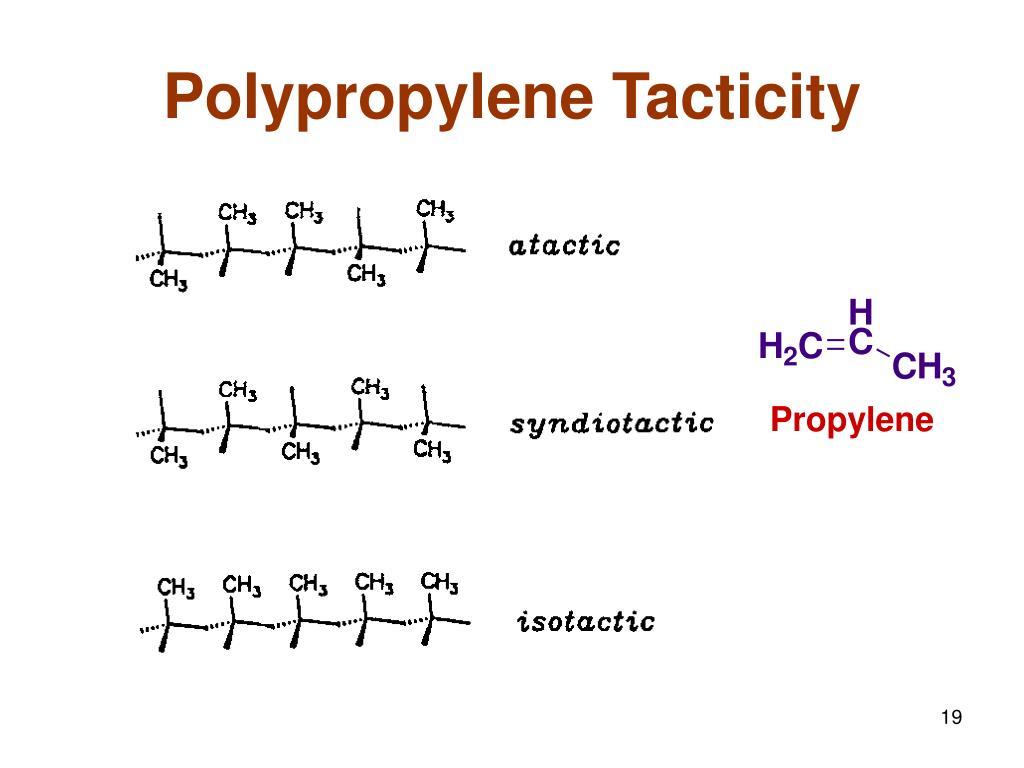 Polypropylene Tacticity