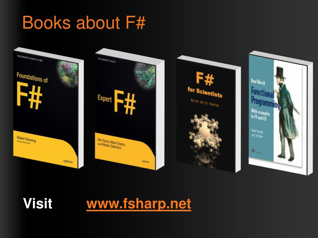 Books about F#