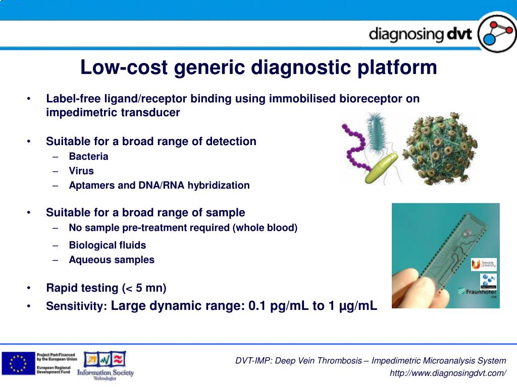Low-cost generic diagnostic platform