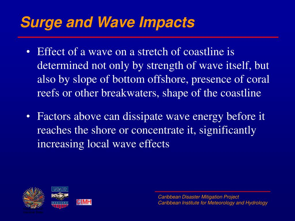 Surge and Wave Impacts