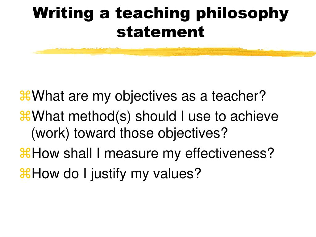 writing a teaching philosophy Writing the teaching statement not having given teaching philosophy a lot of online template--for writing teaching statements suggests that.