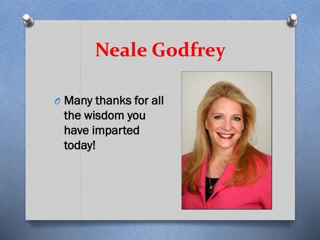 Neale Godfrey